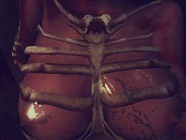 Cavewoman takes fat hard cock